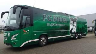 Нов автобус за футболистите на Пирин