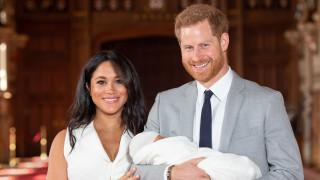 Ето го бебето на принц Хари и Меган Маркъл