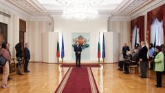 Президентът удостои български творци и учени с държавни отличия