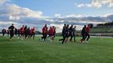 ЦСКА с двуразова тренировка преди мача с Нюрнберг