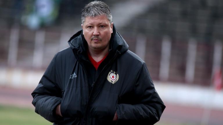 Любослав Пенев пожела четирима българи в ЦСКА