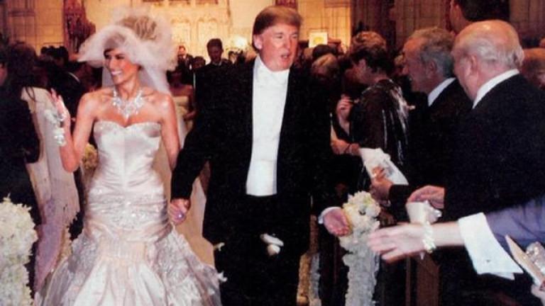 Спомени от сватбата на семейство Тръмп