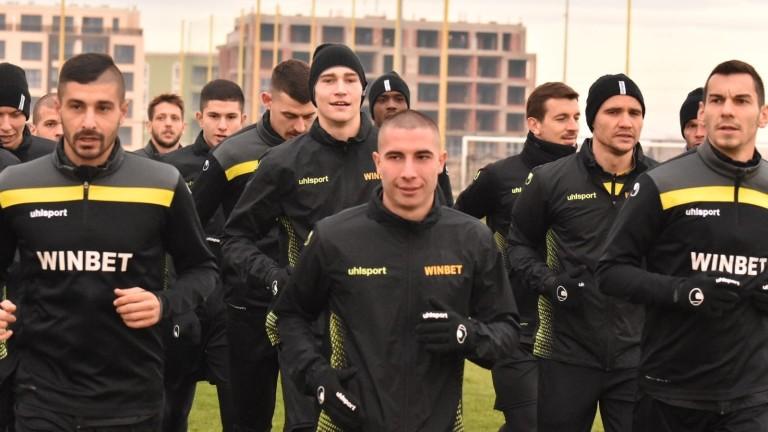 Новият треньор на Ботев (Пловдив) се запозна с играчите