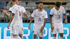 Италия се позабавлява със седем гола срещу немощен Сан Марино