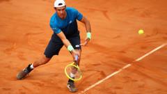 Италианец поднесе първата изненада на големия турнир по тенис в Рим