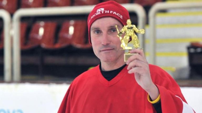 Приветстваха Константин Михайлов в хокейната Зала на славата