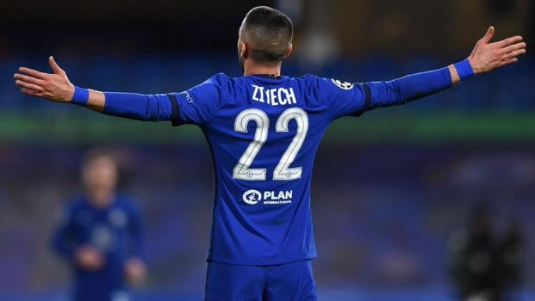 Челси - Атлетико (Мадрид) 1:0, гол на Зиеш, Савич беше изгонен