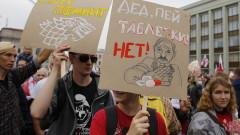 Балони предизвикаха погранична свада между Литва и Беларус