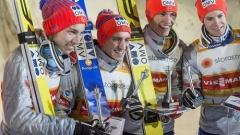 Норвегия спечели отборния ски скок