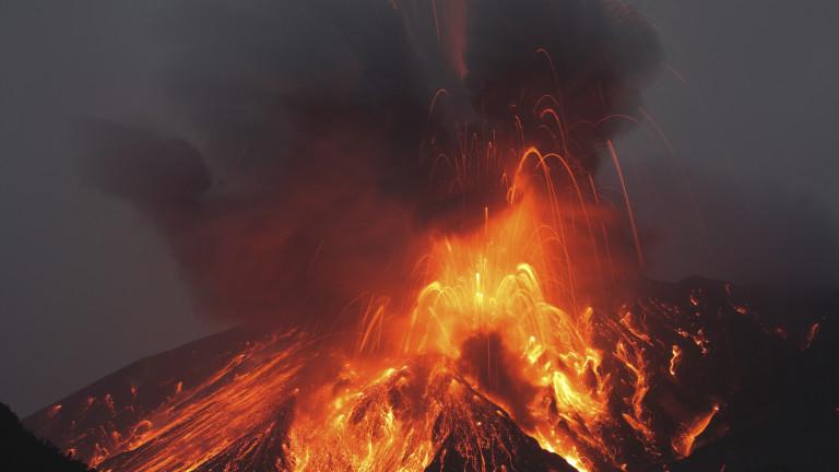 Най-мощните вулкани по света