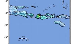 Силно земетресение на индонезийския остров Ломбок