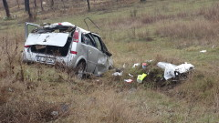Шофьор блъсна седем коли на столичен булевард