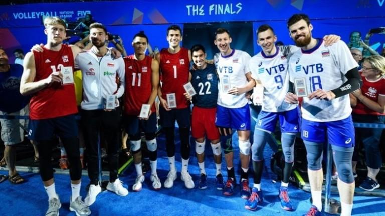 Американецът Матю Андерсън беше избран за най-полезен играч на финалния