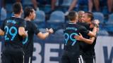 Левски победи Дунав с 4:1 като гост