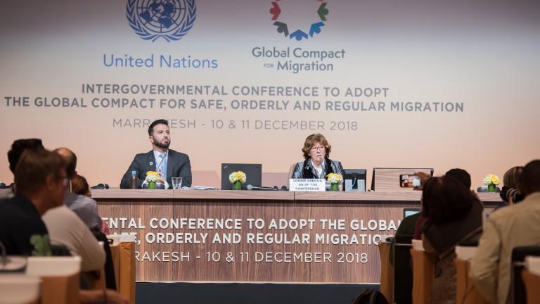 Повече от 150 държави обсъждат Пакта за миграцията в Маракеш