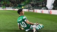 Спортинг (Лисабон) направи първата крачка към четвъртфиналите