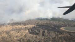 Пожар до Чернобил повиши нивата на радиация