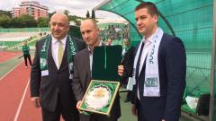 Министър Красен Кралев беше гост на честванията за 100 години Берое
