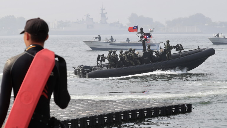 Тайван и САЩ засилват морската координация за противодействие на Китай