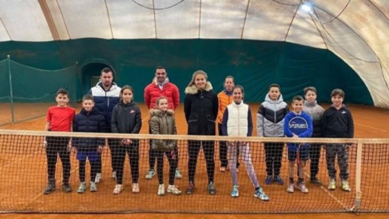 Българската федерация по тенис с лагери за млади таланти