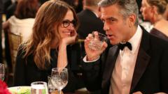 Джордж Клуни запозна Амал с Джулия Робъртс
