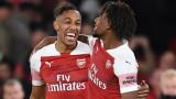 Арсенал няма спирка - скоростни атаки донесоха важен успех над Лестър