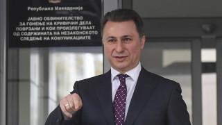 Никола Груевски подаде оставка като депутат