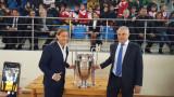 Мичел Салгадо даде началния удар на турнира по футбол в Симитли