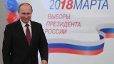 Путин гласува на изборите в Русия