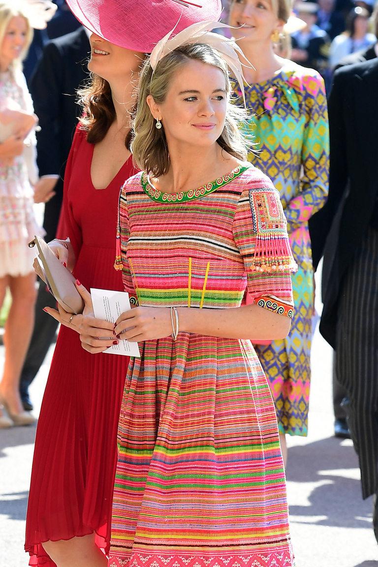 Кресинда Бонас на сватбата на Хари и Меган