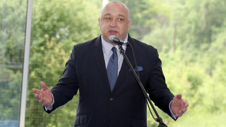 Министър Красен Кралев с приветствие по повод Деня на спорта