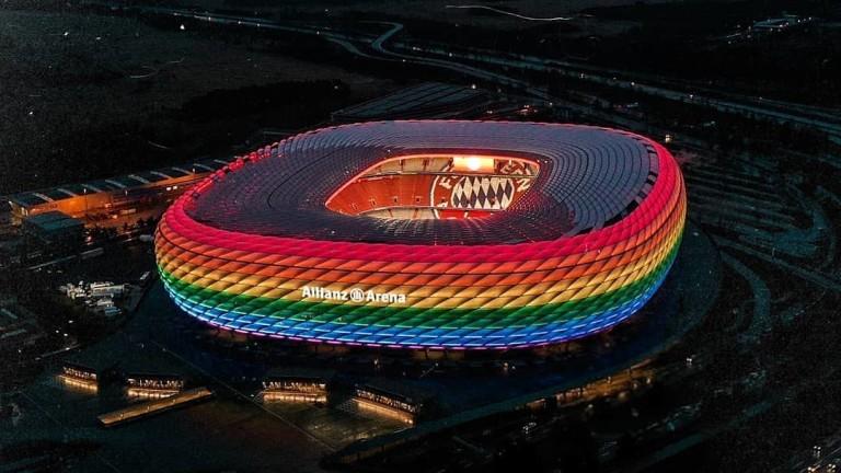 Защо UEFA е против цветовете на дъгата