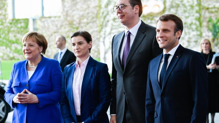 Вучич шокиран от липсата на реакция на ЕС за изявлението на Тачи