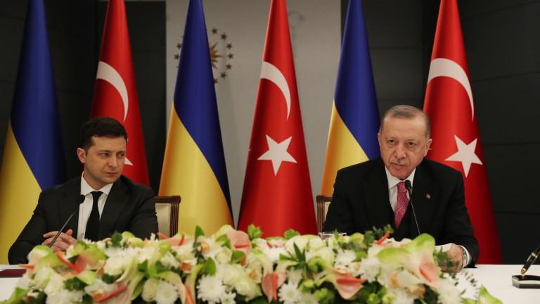 Турският президент Реджеп Ердоган подкрепи подкрепи Украйна за Крим и