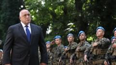 Борисов е доволен, че войската върши много работа