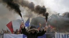 Ранени при антиправителствени демонстрации в Тирана