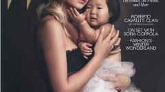 Катрин Хейгъл показа осиновената си дъщеря