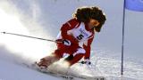 """Алонсо пусна """"дълга коса"""" за ски състезание"""