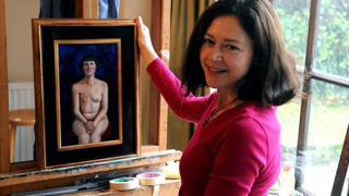 Портрет от самоука художничка отива в Лувъра до Рембранд