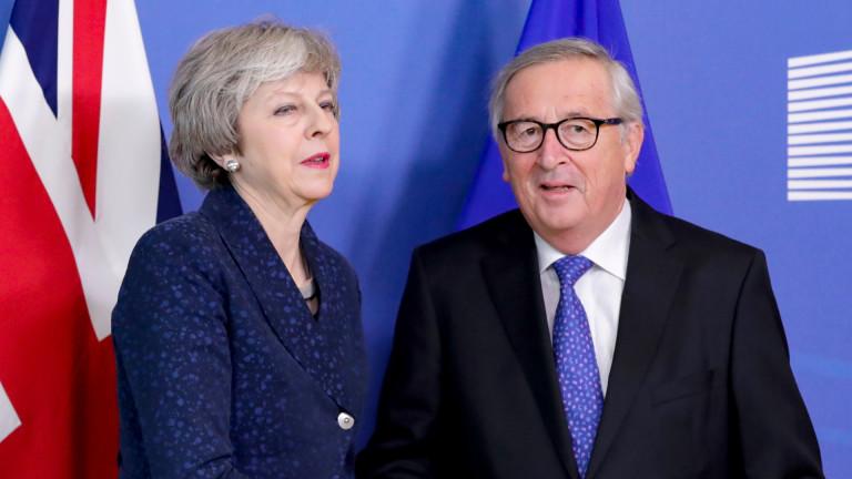 Британският премиер Тереза Мей ще се срещне с председателя на