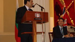 Орешарски гостува на кмета на Лондон