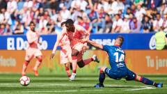 Уеска и Барселона не се победиха - 0:0