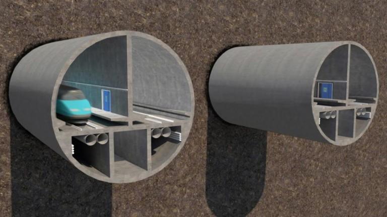 Планът за най-дългия подводен железопътен тунел в света се сблъска