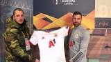 Кирил Динчев и Иван Велчев от ЦСКА организираха благотворителен търг