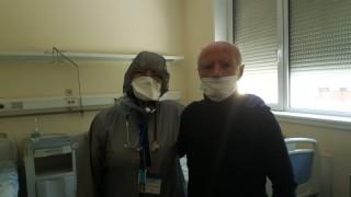 Изписаха от болница 92-годишен, преборил коронавируса