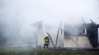 Втори бежански център подпален в Стокхолм за по-малко от седмица