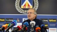 Дерменджиев: Несъвместимо е за Левски да участва в заговори! Любо не съм го чел, не искам да го слушам...