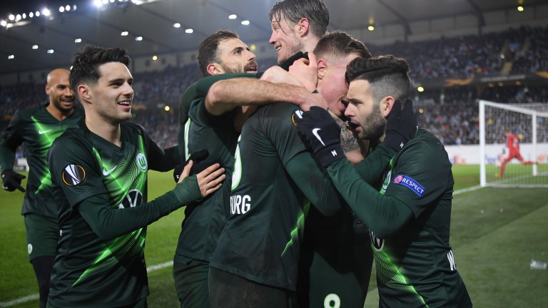 Волфсбург на 1/8-финал в Лига Европа, нов решителен гол на Брекало