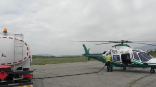 Граничен вертолет паникьоса село Покровник