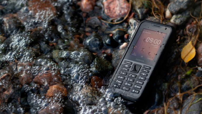 Nokia пуска в България телефон с 4G и свръхиздържливост на корпуса
